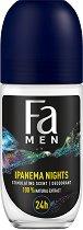 Fa Men Brazilian Vibes Ipanema Nights Roll-On Deodorant - шампоан