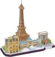 Париж - 3D пъзел - пъзел