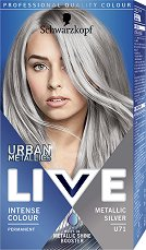 Schwarzkopf Live Urban Metallics Permanent Intensive Colour - продукт