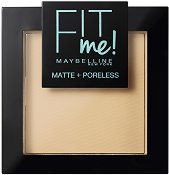 Maybelline Fit Me Matte + Poreless Powder - Матираща компактна пудра за лице - дезодорант