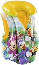 Детска спасителна жилетка - Мики Маус - С размери 51 х 46 cm -