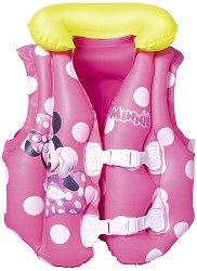 Детска спасителна жилетка - Мини Маус - надуваем пояс