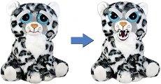 Feisty Pets - Снежен леопард - Плюшена играчка -
