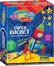 Направи си сам - Ракета от дърво - играчка