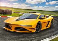 Спортен автомобил - пъзел