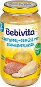 Bebivita - Пюре от картофи и зеленчуци със свинско месо - пюре