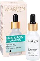 Marion Hyaluron Hydration Serum - Хидратиращ серум за лице и деколте с хиалуронова киселина - шампоан