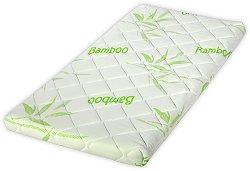 Матрак за бебешко креватче - Air Comfort Bamboo - Размер 60 / 120 / 9 cm -