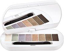 Bourjois Les Nudes Palette - Палитра с 8 цвята сенки за очи - спирала