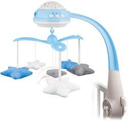 Музикална въртележка  - Stars - Играчка за бебешко креватче - играчка