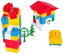 Детски конструктор - Комплект от 60, 114, 140, 173 или 200 части - играчка