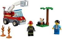"""Горящо барбекю - Детски конструктор от серията """"LEGO: City"""" - играчка"""