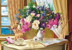Сутрешни цветя - пъзел