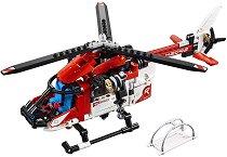 LEGO: Technic - Хеликоптер за спасителни операции 2 в 1 - играчка