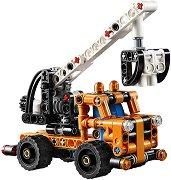 """Камион с кран - 2 в 1 - Детски конструктор от серията """"LEGO Technic"""" - играчка"""