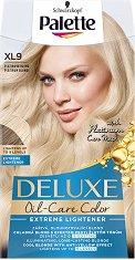 Palette Deluxe Oil-Care Color Extreme Lightener - Изрусител за коса с ефект против жълти оттенъци - парфюм