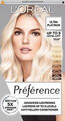 L'Oreal Preference Extreme Platinium - Изрусител за коса с платинен нюанс - шампоан