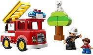 LEGO: Duplo - Пожарникарски камион - детски аксесоар