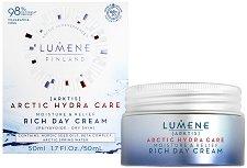 Lumene Arctic Hydra Care Moisture & Relief Rich Day Cream - серум
