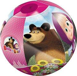 Надуваема топка - Маша и Мечока - играчка