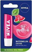 Nivea Watermelon Shine Lip Balm - Балсам за устни с аромат на диня - шампоан