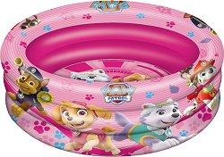 """Надуваем бебешки басейн - Скай и приятели - С диаметър ∅ 100 cm от серията """"Пес Патрул"""" -"""