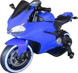 Детски акумулаторен мотор - Flash Turbo - Комплект с помощни колела -