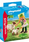 """Фермерка с овце - Фигура с аксесоари от серията """"Special: Plus"""" -"""