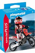 """Мотокрос състезател - Фигура с аксесоари от серията  """"Special: Plus"""" -"""