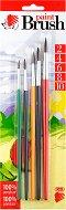 Кръгли четки за рисуване - Комплект от 5 броя