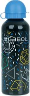 Детска алуминиева бутилка - Gabol: Space 500 ml - чадър