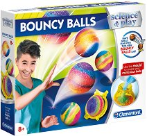 """Направи сам - Подскачащи топчета - Творчески комплект от серията """"Science and Play"""" -"""