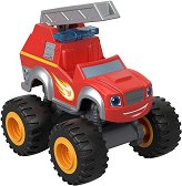 """Пожарната Пламъчко - Метална количка от серията """"Пламъчко и машините"""" - количка"""