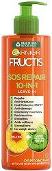 Garnier Fructis SOS Repair 10 in 1 Leave In - Крем без отмиване за суха и увредена коса 10 в 1 - продукт