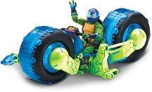 """Леонардо с мотор - Комплект за игра от серията """"Възходът на костенурките нинджа"""" - играчка"""