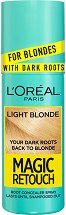 L'Oreal Magic Retouch For Blondes with Dark Roots - Спрей за изрусена коса за прикриване на тъмни корени -