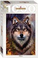 """Вълк - От колекция  """"Art"""" : Бент Шлик (Bente Schlick) - пъзел"""