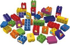 """Моят свят - Детски конструктор от био пластмаса : От серията """"Learning to Build"""" - играчка"""