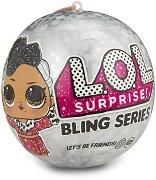 L.O.L. Surprise - Кукла изненада с брокат - В комплект с аксесоари -