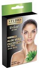 Studio Professionali Wax Face Strips Aloe Vera - душ гел
