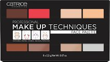 Catrice Professional Make Up Techniques Face Palette -