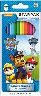 Цветни моливи - Пес Патрул - Комплект от 12 цвята