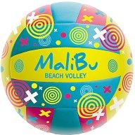 Топка за плажен волейбол - Malibu - играчка