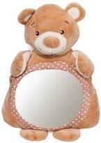 """Детско огледало - Мечето Bear Boo - Играчка за автомобил от серията """"Bear Boo"""" -"""