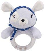 """Плюшена дрънкалка - Red Heart - Бебешка играчка от серията """"Love Rome"""" -"""