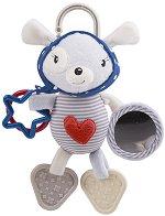 """Плюшено зайче - Red Heart - Мека играчка за количка или легло от серията """"Love Rome"""" -"""
