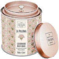 "Scottish Fine Soaps La Paloma Luxurious Bath Soak - Луксозна пудра за вана от серията ""La Paloma"" -"