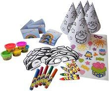 Оцвети сам - Аксесоари за рожден ден - играчка