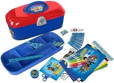 Комплект за оцветяване в куфарче - Пес Патрул - топка