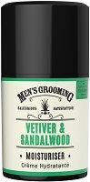 """Scottish Fine Soaps Men's Grooming Vetiver & Sandalwood Moisturiser - Хидратиращ крем за лице за мъже от серията """"Men's Grooming"""" -"""